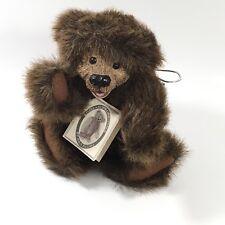 "Kimbearly's Originals 9"" Sabrina Teddy Bear   Hand No.1E/0083   Resin/ Plush"