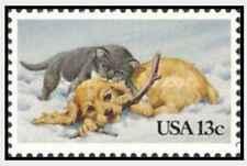 Timbre Animaux Chiens Chats Etats-Unis 1461 ** (31977E)