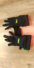 Boys Or Girls Small Black Winter Head Gloves Excellent Used Condition!
