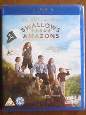 SWALLOWS and AMAZONS (2016) (REGION B Blu-Ray) KELLY MacDONALD - BRAND NEW!!!
