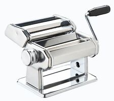New Pasta Machine Maker Lasagne Spaghetti Stainless Steel Cutter Blades Chrome