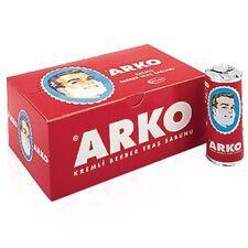 ARKO Savon de rasage bâton traditionnel Turc Rasage Crème 75g x 12 bâtons