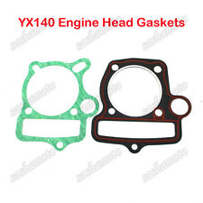 YX140 Head Gaskets For ATV Quad YX 140cc Oil Cooled Engine 1P56FMJ Dirt Pit Bike