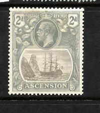 ASCENSION ISLAND  1924  2d   SHIP    MH  SG 13
