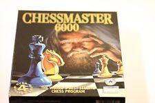 Chessmaster Chess Master 6000 PC jeu sur CD-ROM WINDOWS 95/98