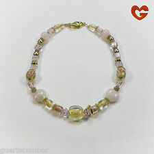 GÜRTELZAUBER HALSKETTE Rosenquarz NECKLACE rose quartz