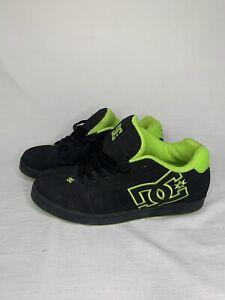 DC Suregrip Men's Net SG Black/Green Slip Resistant Work Shoes S10