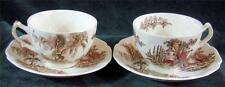 Two Sets of - JOHNSON BROS. - THE OLD MILL - CUP's & SAUCER's - Made in England