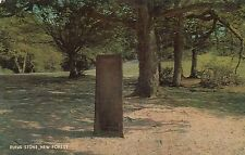 Postcard - New Forest - Rufus Stone