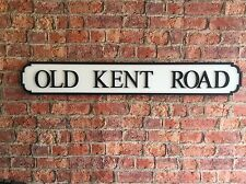 VINTAGE Wood Street Sign Old Kent Road