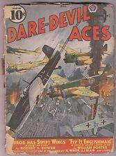 DARE-DEVIL ACES April 1941 Aviation Pulp Fiction Robert Sidney Bowen Hal White