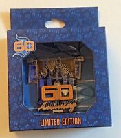 Disneyland 60th Anniversary Jumbo Pin Tinker Bell LE 1000 July 17 2015 Castle