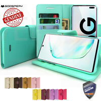 Slim flip Leather wallet Case Cover for Samsung Galaxy Note 10 / Note10+ /S10