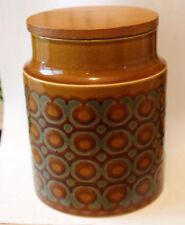 Hornsea Bronte Vintage Plain  Storage Jar Caddy Retro Kitchenalia