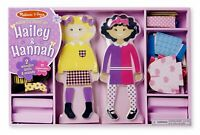 Melissa and Doug Hailey & Hannah Magnetic Dress-Up - (Damaged Packaging) - 18799