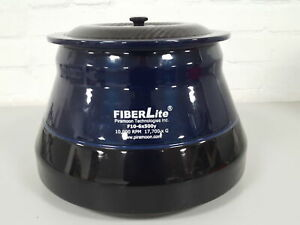 PTI FiberLite F10-6x500y Fixed Angle Centrifuge Rotor 250ml Adapter Sleeves Lab