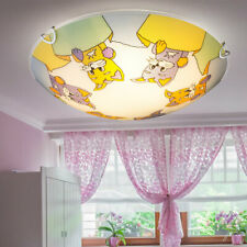 RGB LED Kids Ceiling Lamp Animals Zoo Motive Game Room Light REMOTE CONTROL
