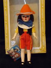 "Vintage Effanbee Storybook 11"" Pinocchio Doll Original Box & Tags"