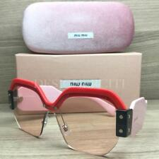 Miu Miu SMU 09S Sunglasses Red Black Pink VIW 4Q0 Authentic