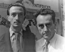 Salvador Dali & Man Ray Surrealist Artist Surreal Photo Real Canvas Art Print