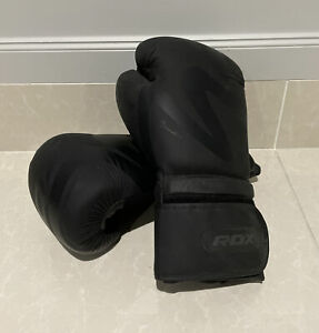 RDX Boxing Skin Combat Leather Gloves