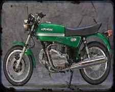 Ducati 860 Gte A4 Photo Print Motorbike Vintage Aged
