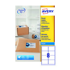 Avery QuickDRY White Inkjet Labels 99.1 x 67.7mm 8 Per Sheet (Pack of 800)