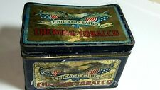 c. 1930's ROCK CITY CHICAGO CUBS CHEWING TOBACCO TIN - AS IS
