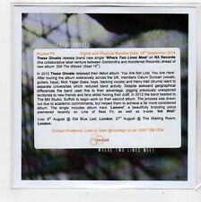 (FQ812) These Ghosts, Where Two Lines Meet - 2014 DJ CD