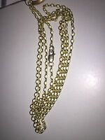 100% Genuine 9k Solid Yellow Gold Belcher Chain  Parrot Clasp 70cm. Brand New