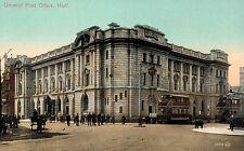 Hull,U.K.General Post Office,Trolley Cars,Yorkshire & Humber,c.1909