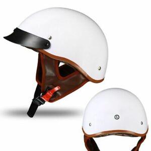 Summer Motorcycle Helmet Vintage Scooter Biker Motorbike Open Face Men Women