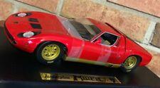 Lamborghini Muira RED 30302 ANSON 1:18 SCALE