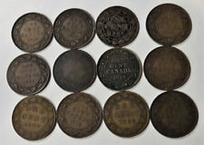 LOT CANADA ONE CENT  3 - 1917 4 - 1919 1909 1918 2 - 1906 1 - NO DATE