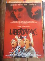 LIBERTARIAS 1 SHEET MOVIE  POSTER folded