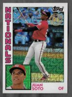 2019 Topps Series 1 Silver Pack 1984 Chrome Refractor #26 JUAN SOTO Nationals
