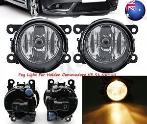 Pair Left+Right Fog Light Lamp For Holden Berlina Series 1 S SV6 SV8 SSV SS