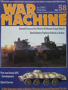 War Machine magazine Issue 58 Modern Wheeled Armoured Personnel Carriers