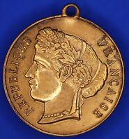 French France medallion Souvenir de la Fête Nationale 1882 [18171]