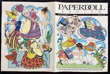 Janet Laura Paper Doll by Larry Bassin, 2000, Doll Mag. Covers