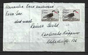 Angola, Portugal - Birds - 1951 Airmail Cover t/ Germany - VF !!!!!  (A3919)