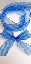 Wire edged ribbon luxurious quality 1m