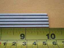 """3 PCS. STAINLESS STEEL ROUND ROD 304, 5/32"""" (.156"""") (4MM.) X 10"""" LONG"""