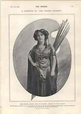 1905 Miss Fanny Dango alegría Teatro