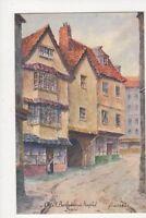 Old St Bartholomews Hospital Bristol Baness Vintage Postcard 489a