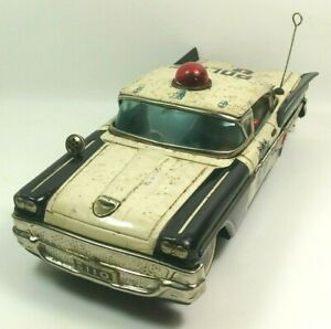 1960s Yonezawa Highway Patrol PD110 police car 30cm, works, early version