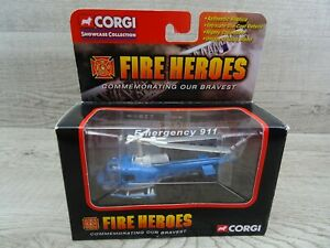 Corgi CS90247 Fire Heroes Huey UH-1B NYPD Diecast Model Helicopter Aircraft
