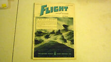 FLIGHT & AIRCRAFT MAGAZINE, OCT 1945, GREAT ADVERTISING, COMMERCIAL & MILITARY 2