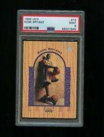 1996-97 UD3 Kobe Bryant #19 Rookie RC PSA 9 Los Angeles Lakers HOF