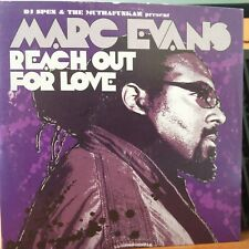 DJ Spen & The MuthaFunkaz present Marc Evans ‎– Reach Out For Love CD Single